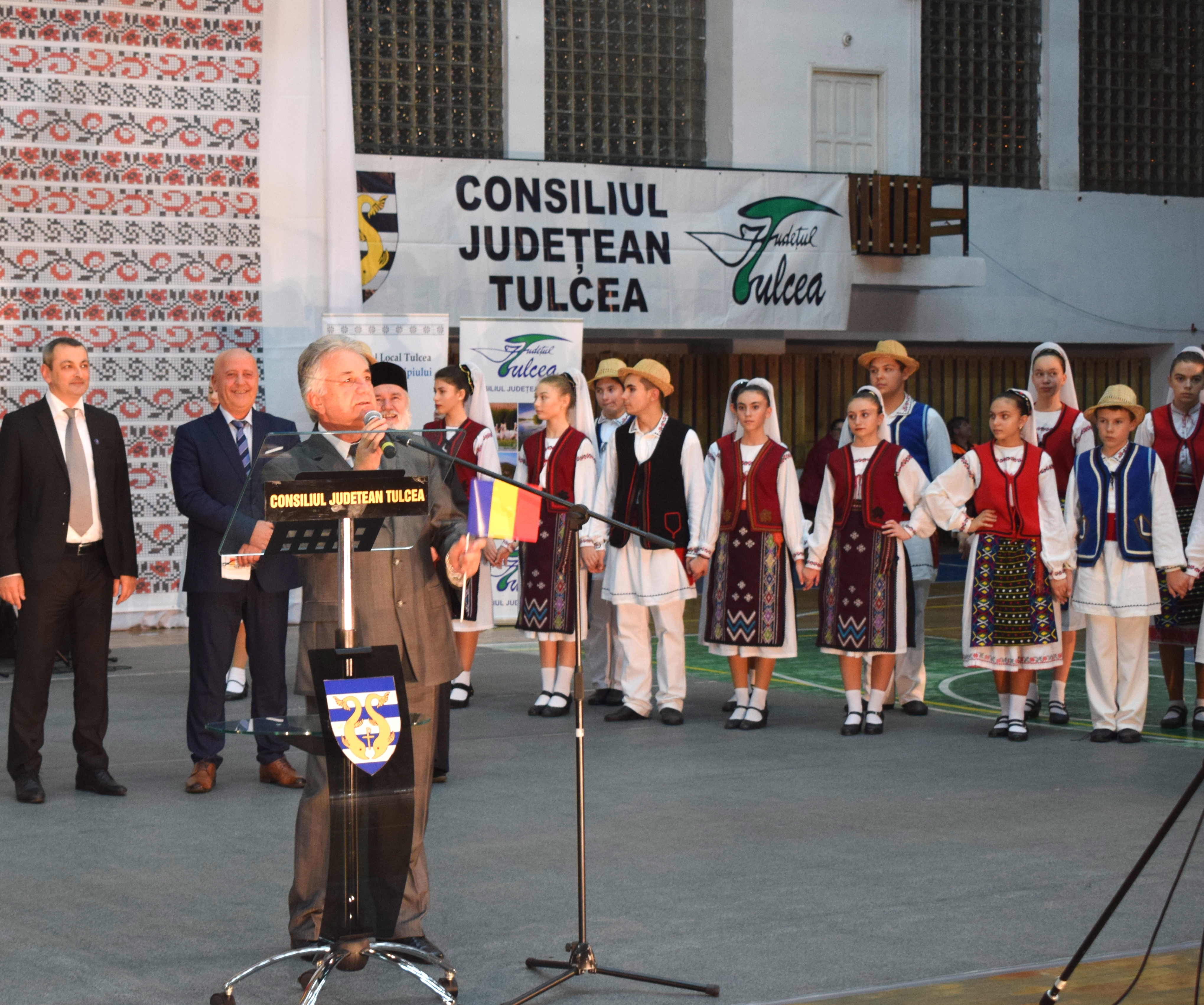 ... Primarul Municipiului Tulcea, domnul Constantin Hogea ...