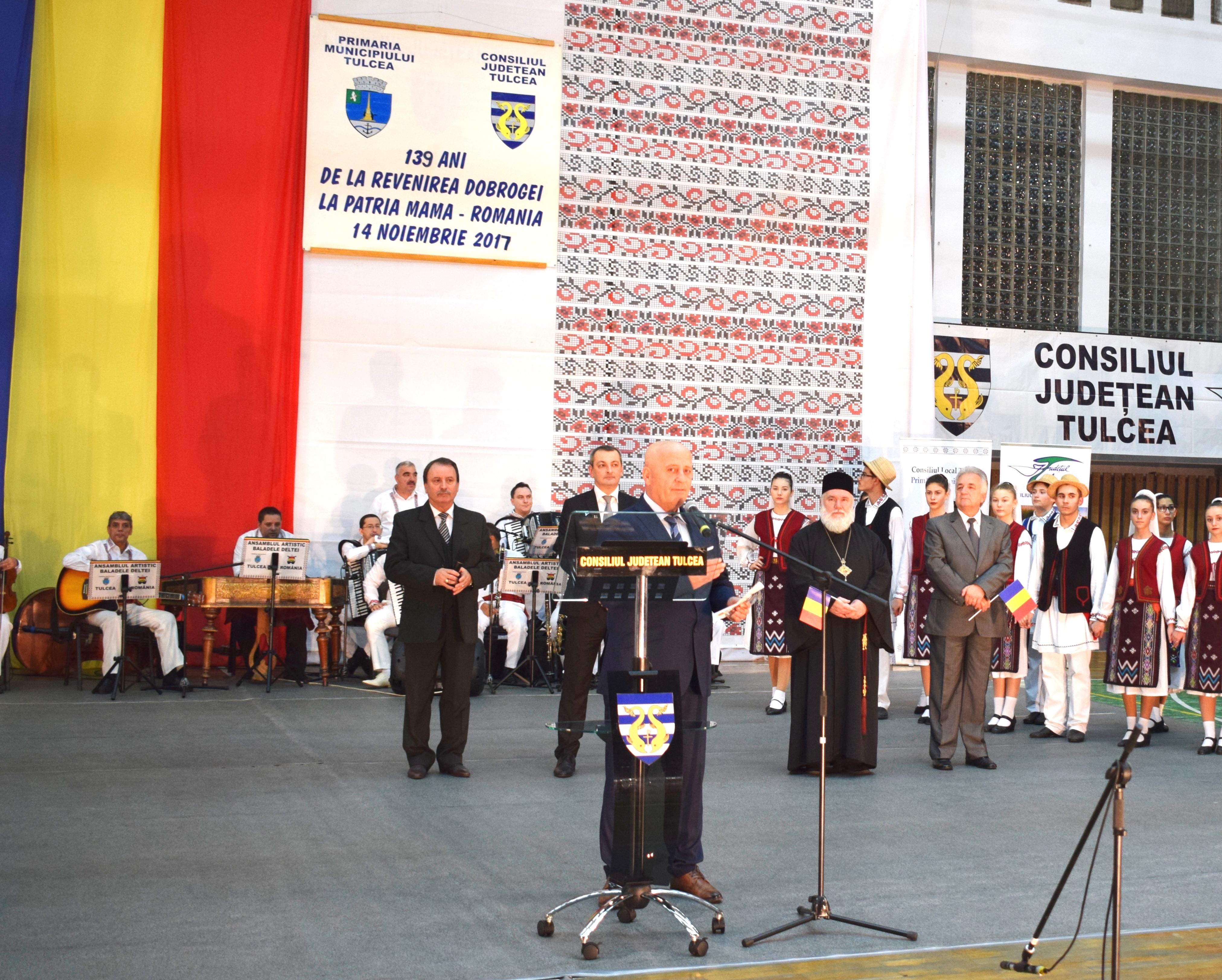 ... și Președintele Consiliului Județean, domnul Horia Teodorescu!