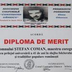 15. ASOCIATIA CULTURALA CONSTANTIN GANESCU BRAILA DIPLOMA DE MERIT