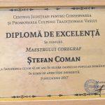 8. CENTRUL CULTURAL PENTRU CONSERVAREA SI PROMOVAREA CULTURII TRADITIONALE VASLUI DIPLOMA DE EXCELENTA