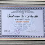 9. ANSAMBLUL ARTISTIC PROFESIONIST DOR ROMANESC BISTRITA DIPLOMA DE EXCELENTA