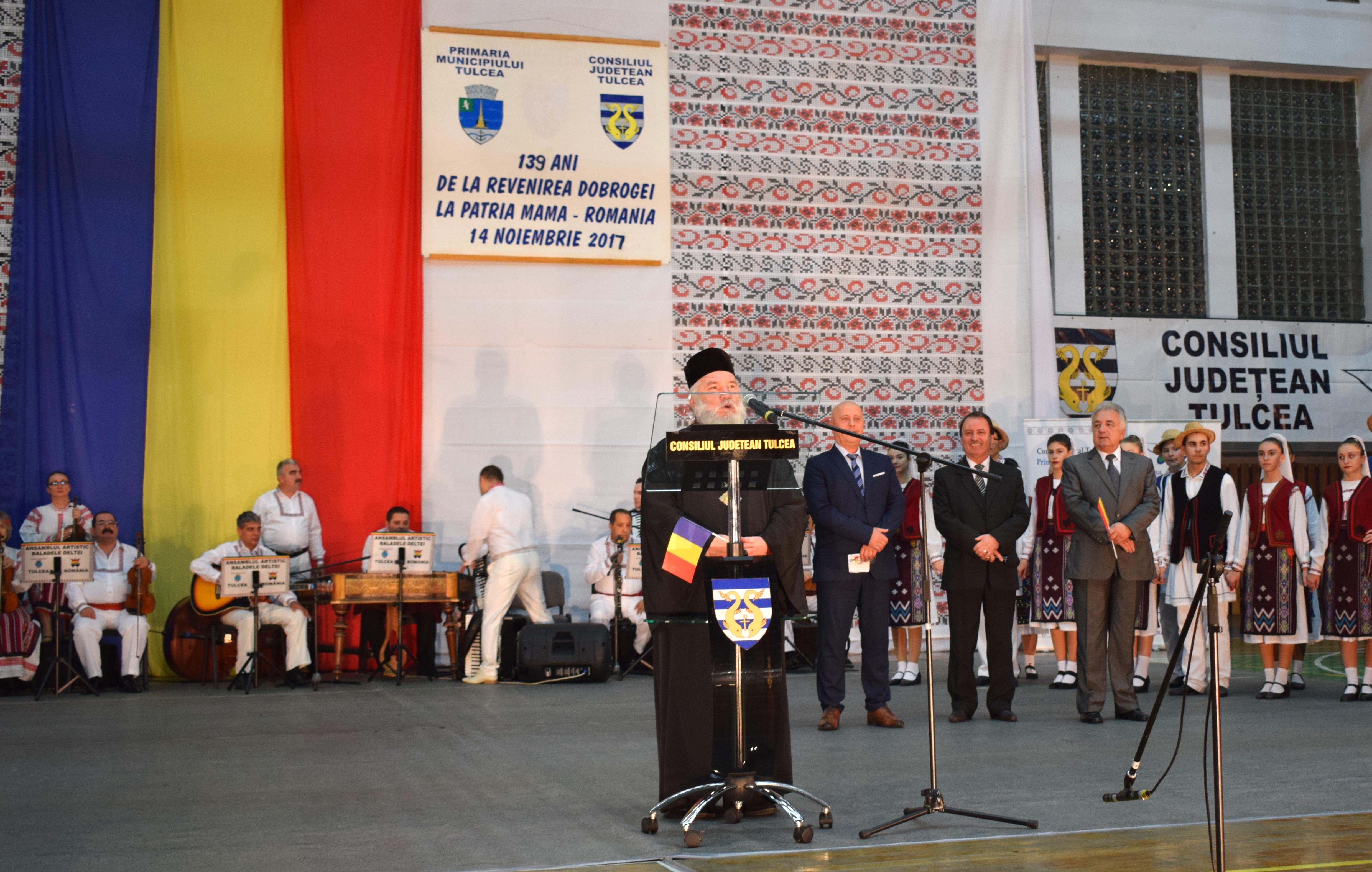 Au urmat: Prea Sfințitul Visarion Bălțat, Episcopul Tulcii...