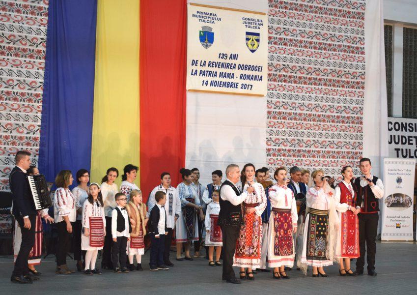 Impresionant spectacol cu ocazia sărbătoririi a 139 de ani de la alipirea Dobrogei la Patria Mamă!