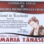 11. ANSAMBLUL FOLCLORIC MARIA TANASE CRAIOVA DIPLOMA DE EXCELENTA