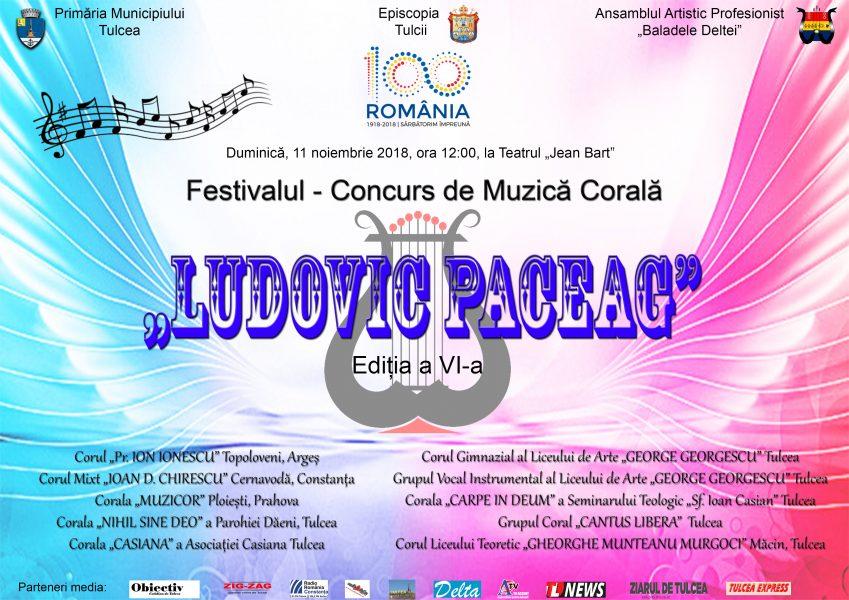 """Ecouri la Ediția a VI-a a Festivalului – Concurs de Muzică Corală  """"Ludovic Paceag"""""""