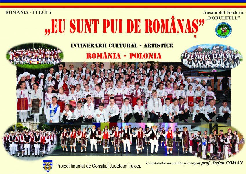 Eu sunt pui de românaș. Itinerarii cultural-artistice România- Polonia