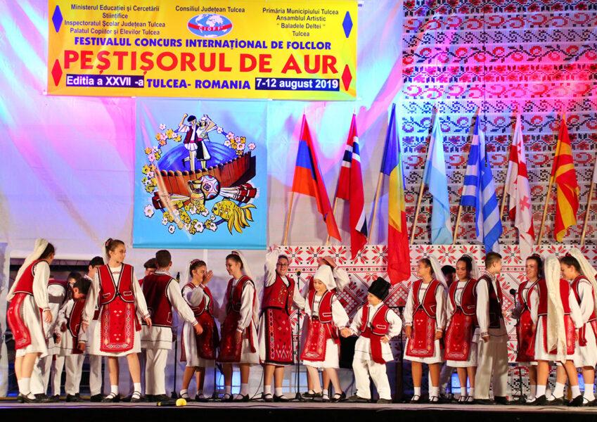"""Festivalul-Concurs Internațional de Folclor """"Peștișorul de Aur"""""""